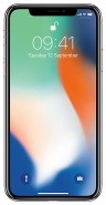 Смартфон Apple iPhone X 256GB, серебристый