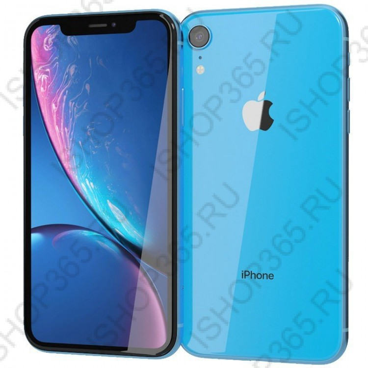 Смартфон Apple iPhone XR 128GB, голубой